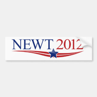 Newt 2012 Swag Bumper Sticker
