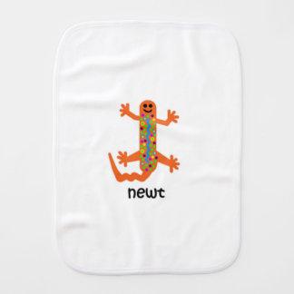 Newt Burp Cloth