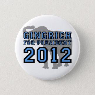 Newt Gingrich 2012 6 Cm Round Badge
