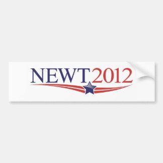 Newt Gingrich 2012 Bumpersticker Bumper Sticker