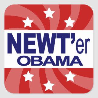 NEWT Gingrich 2012 Square Sticker