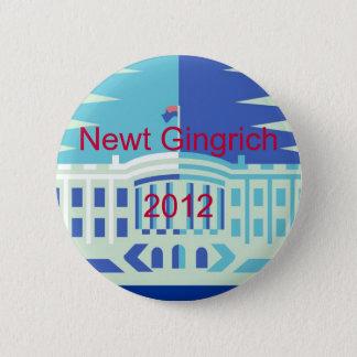 Newt Gingrich 6 Cm Round Badge