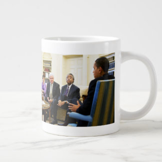 Newt Gingrich, Barack Obama, Jarrett & Sharpton Large Coffee Mug