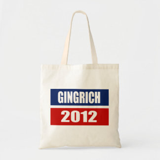 NEWT GINGRICH CAMPAIGN GEAR TOTE BAG