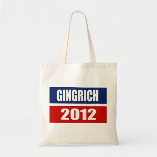 NEWT GINGRICH CAMPAIGN GEAR CANVAS BAGS