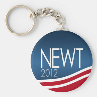 Newt Gingrich for President 2012 Basic Round Button Key Ring