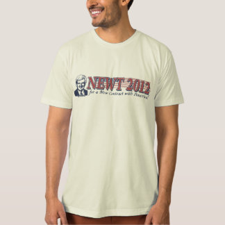 Newt Gingrich for President 2012 Gear Shirts