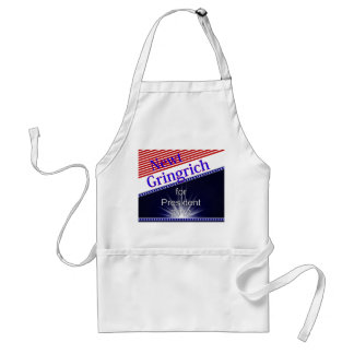 Newt Gingrich For President Explosion Aprons