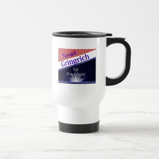 Newt Gingrich For President Explosion Coffee Mug