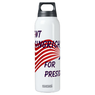 Newt Gingrich For President Shooting Star 0.5L Insulated SIGG Thermos Water Bottle