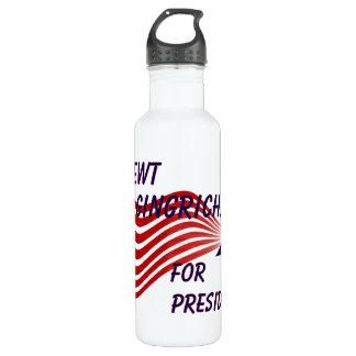 Newt Gingrich For President Shooting Star 710 Ml Water Bottle