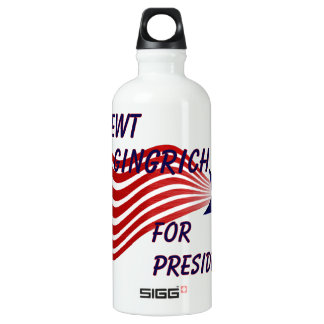 Newt Gingrich For President Shooting Star SIGG Traveller 0.6L Water Bottle