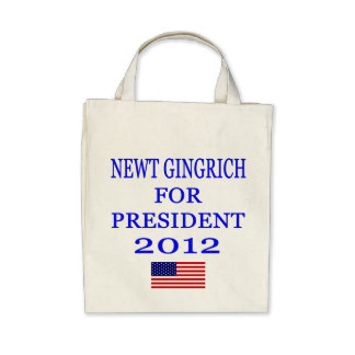 Newt Gingrich Organic Tote Bag