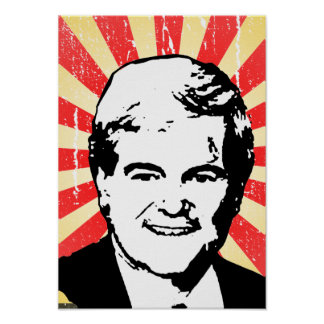 Newt Gingrich Poster