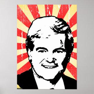 Newt Gingrich Print
