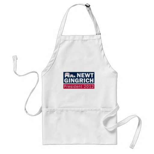 Newt Gingrich President 2012 Republican Elephant Apron