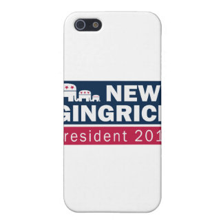 Newt Gingrich President 2012 Republican Elephant Case For iPhone 5