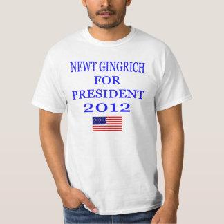 Newt Gingrich Value T-shirt