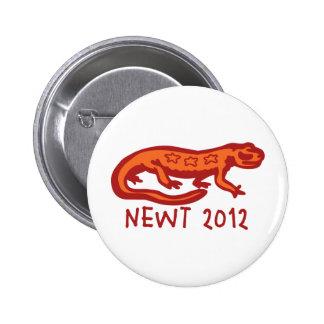 Newt Newt 2012 6 Cm Round Badge