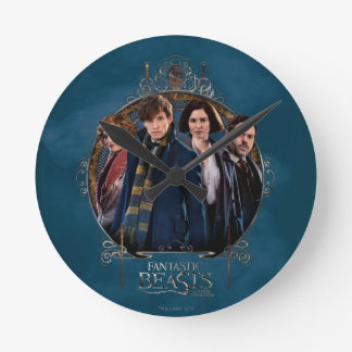 NEWT SCAMANDER™ and Company Art Nouveau Frame Clock