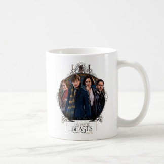 Newt Scamander and Company Art Nouveau Frame Coffee Mug