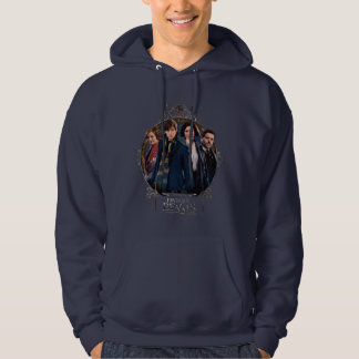 NEWT SCAMANDER™ and Company Art Nouveau Frame Hoodie