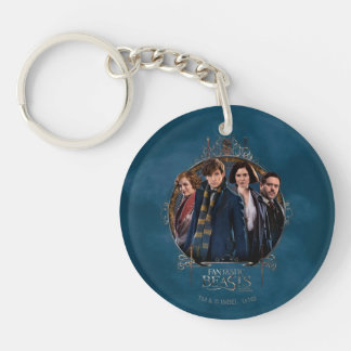 NEWT SCAMANDER™ and Company Art Nouveau Frame Key Ring