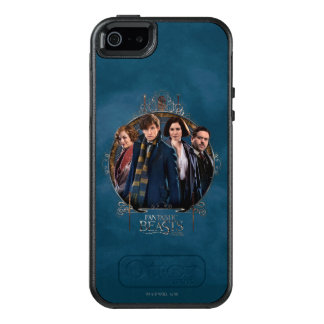 NEWT SCAMANDER™ and Company Art Nouveau Frame OtterBox iPhone 5/5s/SE Case