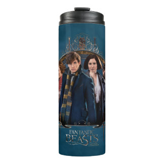 NEWT SCAMANDER™ and Company Art Nouveau Frame Thermal Tumbler