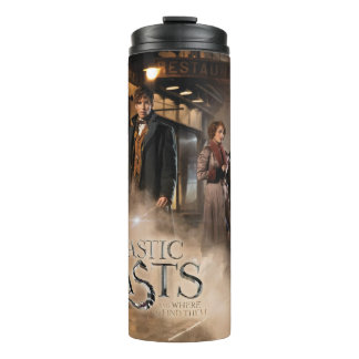 NEWT SCAMANDER™ & Co. At The Train Station Thermal Tumbler