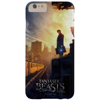 NEWT SCAMANDER™ in Destroyed Building Barely There iPhone 6 Plus Case