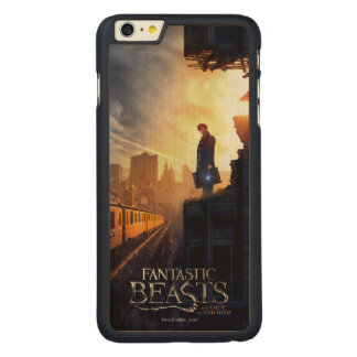 NEWT SCAMANDER™ in Destroyed Building Carved Maple iPhone 6 Plus Case
