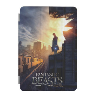 NEWT SCAMANDER™ in Destroyed Building iPad Mini Cover