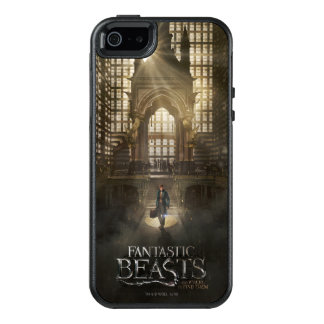 NEWT SCAMANDER™ in M.A.C.U.S.A. Headquarters OtterBox iPhone 5/5s/SE Case