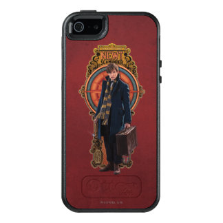 NEWT SCAMANDER™ Standing Art Nouveau Panel OtterBox iPhone 5/5s/SE Case