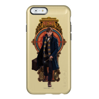 NEWT SCAMANDER™ Walking Art Nouveau Panel Incipio Feather® Shine iPhone 6 Case