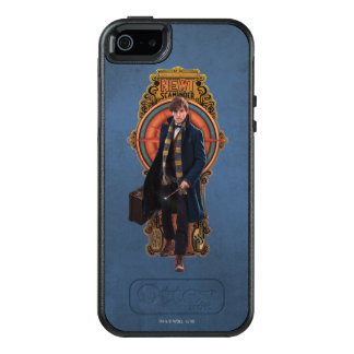 NEWT SCAMANDER™ Walking Art Nouveau Panel OtterBox iPhone 5/5s/SE Case