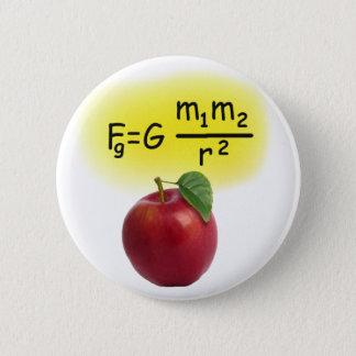 Newton 6 Cm Round Badge