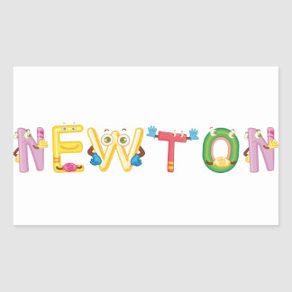 Newton Sticker
