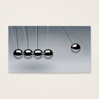 Newtons Cradle Business Card