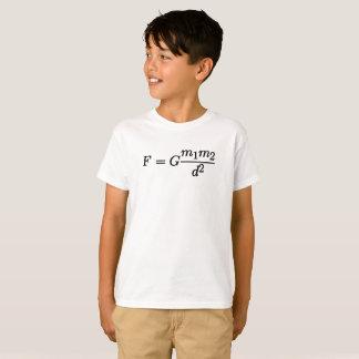 Newton's Law of Universal Gravitation Cool Nerdy T-Shirt