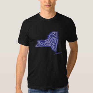Newyork Abstract T-shirts