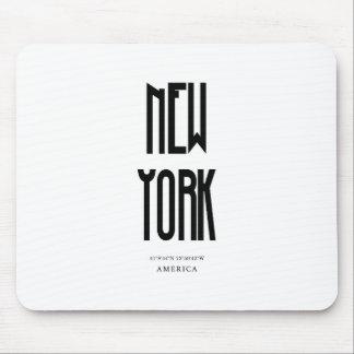 NewYork Coordinate Mouse Pad