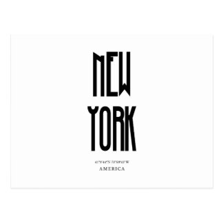 NewYork Coordinate Postcard