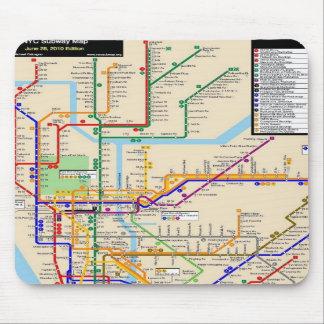 Newyork subway Mousepad