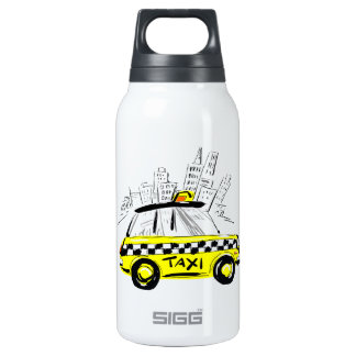 newyork taxi 0.3 litre insulated SIGG thermos water bottle