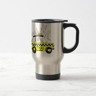 newyork taxi mugs