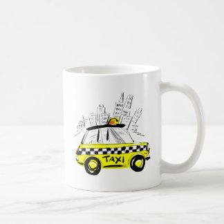 newyork taxi coffee mugs