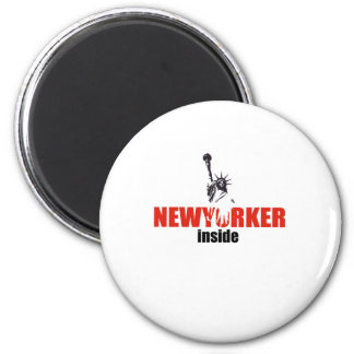 Newyorker style product refrigerator magnets