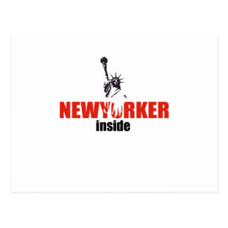 Newyorker style product postcard